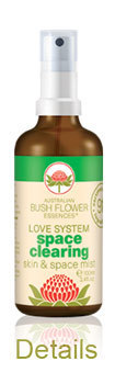 SPACE CLEARING SPRAY 100 ml Australische Buschblüten