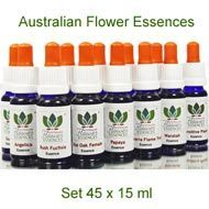 Australian Flower Essences Bushflowers  Kit 15 ml