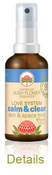 Calm & Clear Spray Australische Buschblüten