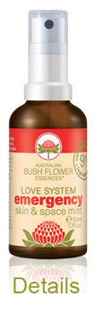 Emergency Spray Australian Bushflowers