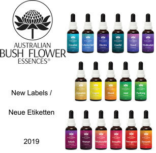 Kombinationen Set der Australian Bush Flower Essences Australische Buschblüten